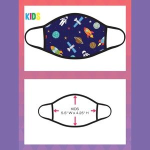 Other - Astronauts and Rockets Kids Face Mask